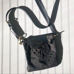 Coach Maddison 41992 signature crossbody purse bag
